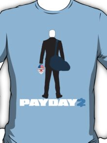 Payday 2-Dallas-White T-Shirt