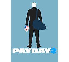Payday 2-Dallas-White Photographic Print
