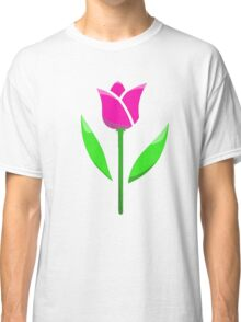 Pink tulip  Classic T-Shirt