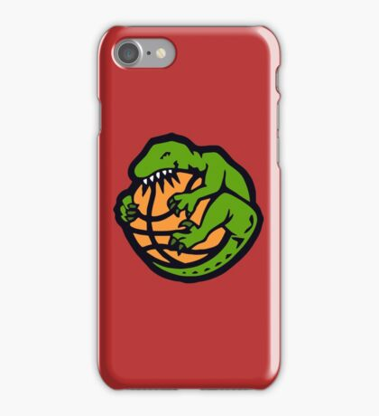funny raptors iPhone Case/Skin