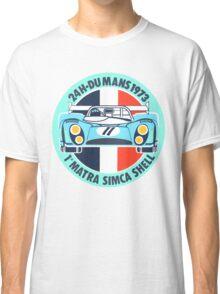 Vintage Le mans racing decal Classic T-Shirt