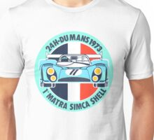 Vintage Le mans racing decal Unisex T-Shirt