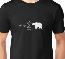 Not Your Average Bear, in White Unisex T-Shirt