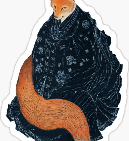 The Fox's Wedding Sticker