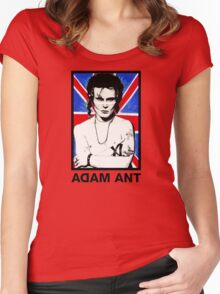 Adam Ant Women's Fitted Scoop T-Shirt