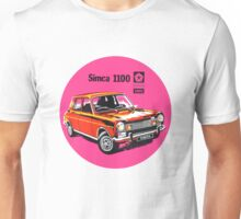 Vintage Simca Chrysler decal Unisex T-Shirt