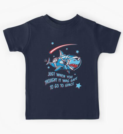 Space Shark Kids Tee