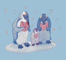Penguin carols One Piece - Short Sleeve