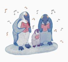 Penguin carols One Piece - Long Sleeve