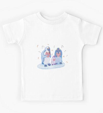 Penguin carols Kids Tee