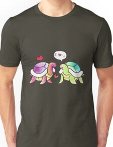 I Love You Turtles Unisex T-Shirt