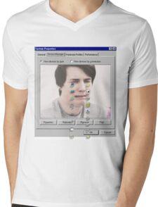 Dan crying Mens V-Neck T-Shirt