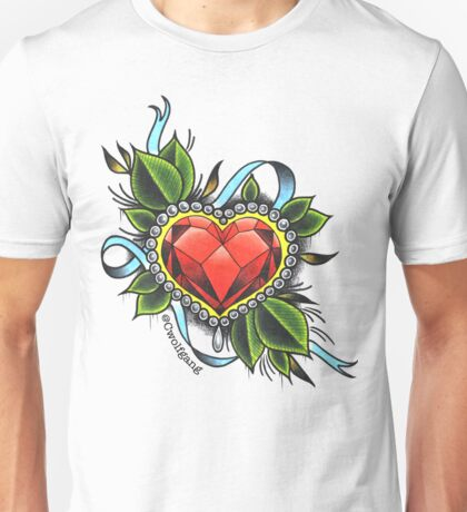 The Heart Crystal Unisex T-Shirt