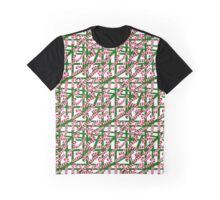 Squiggly Candy Canes Graphic T-Shirt