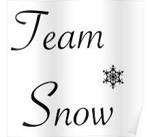 Team Snow Poster