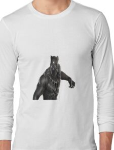 Super heroes Black Panther Long Sleeve T-Shirt