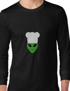 Alien cook with hat Long Sleeve T-Shirt