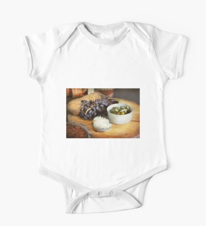 Food - Fruit - Gherkins and Grapes One Piece - Short Sleeve