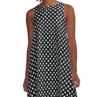 Polkadot Stars A-Line Dress