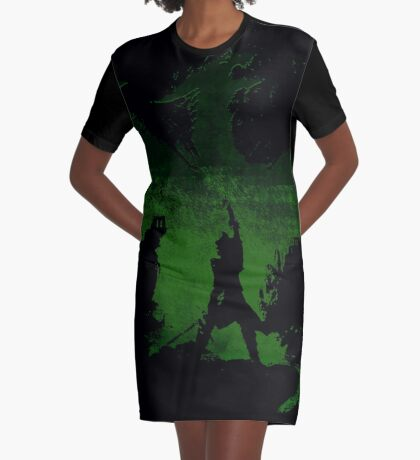 Lead them or fall! Graphic T-Shirt Dress