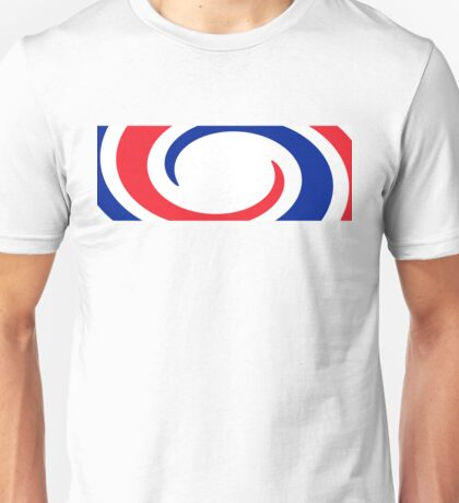 France Flag Whirl Unisex T-Shirt