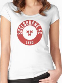 SHELBOURNE FC 1895 Women's Fitted Scoop T-Shirt