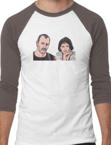 Turddemon Men's Baseball ¾ T-Shirt
