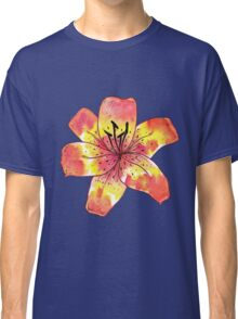 Watercolor Tiger Lily Classic T-Shirt