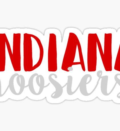 Indiana Hoosiers Sticker