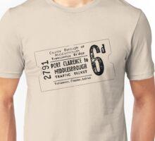 Vintage Transporter Ticket 6d Unisex T-Shirt