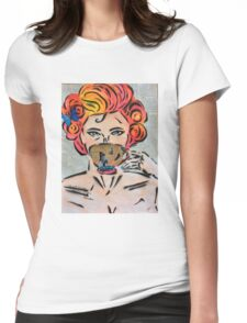 Camille Womens Fitted T-Shirt