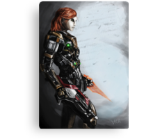 Our Commander Shepard Canvas Print