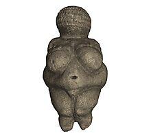 Prehistoric Venus Figurine Photographic Print