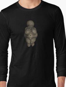 Prehistoric Venus Figurine Long Sleeve T-Shirt