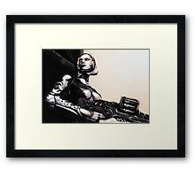 Unshackled A.I. Framed Print