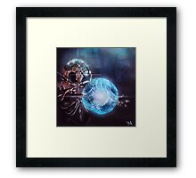 Uploading Framed Print