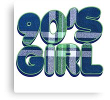 90s Girl Canvas Print