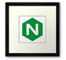 NGINX logo  Framed Print
