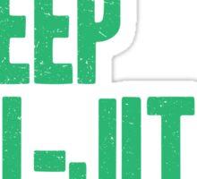 Eat Sleep Jiu-Jitsu Repeat Sticker