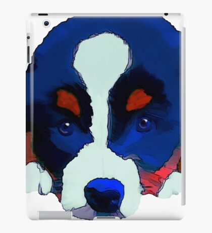 Colourful Puppy iPad Case/Skin