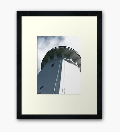 Smokey Cape Light House Framed Print
