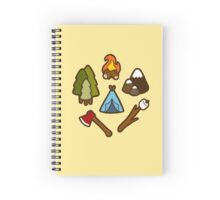 Camping is cool Spiral Notebook