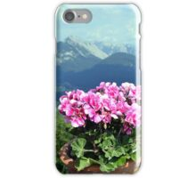 Tyrolean Alps iPhone Case/Skin