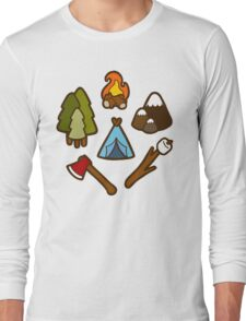 Camping is cool Long Sleeve T-Shirt