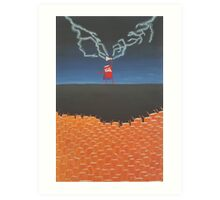Thor-Cola vs Zombie-Fanta Art Print