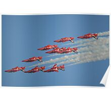 Red Arrows Roll Poster