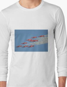 Red Arrows Roll Long Sleeve T-Shirt