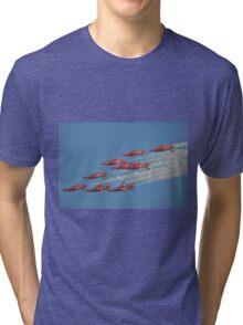 Red Arrows Roll Tri-blend T-Shirt