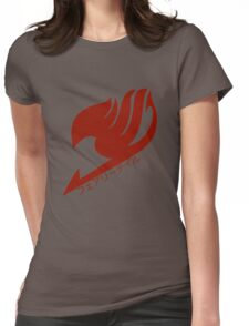 Fairy tail logo (Red) Womens Fitted T-Shirt