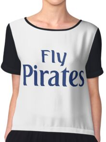 Fly Pirates  Chiffon Top